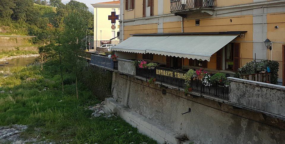 balconata esterna sul fiume Brembo 5